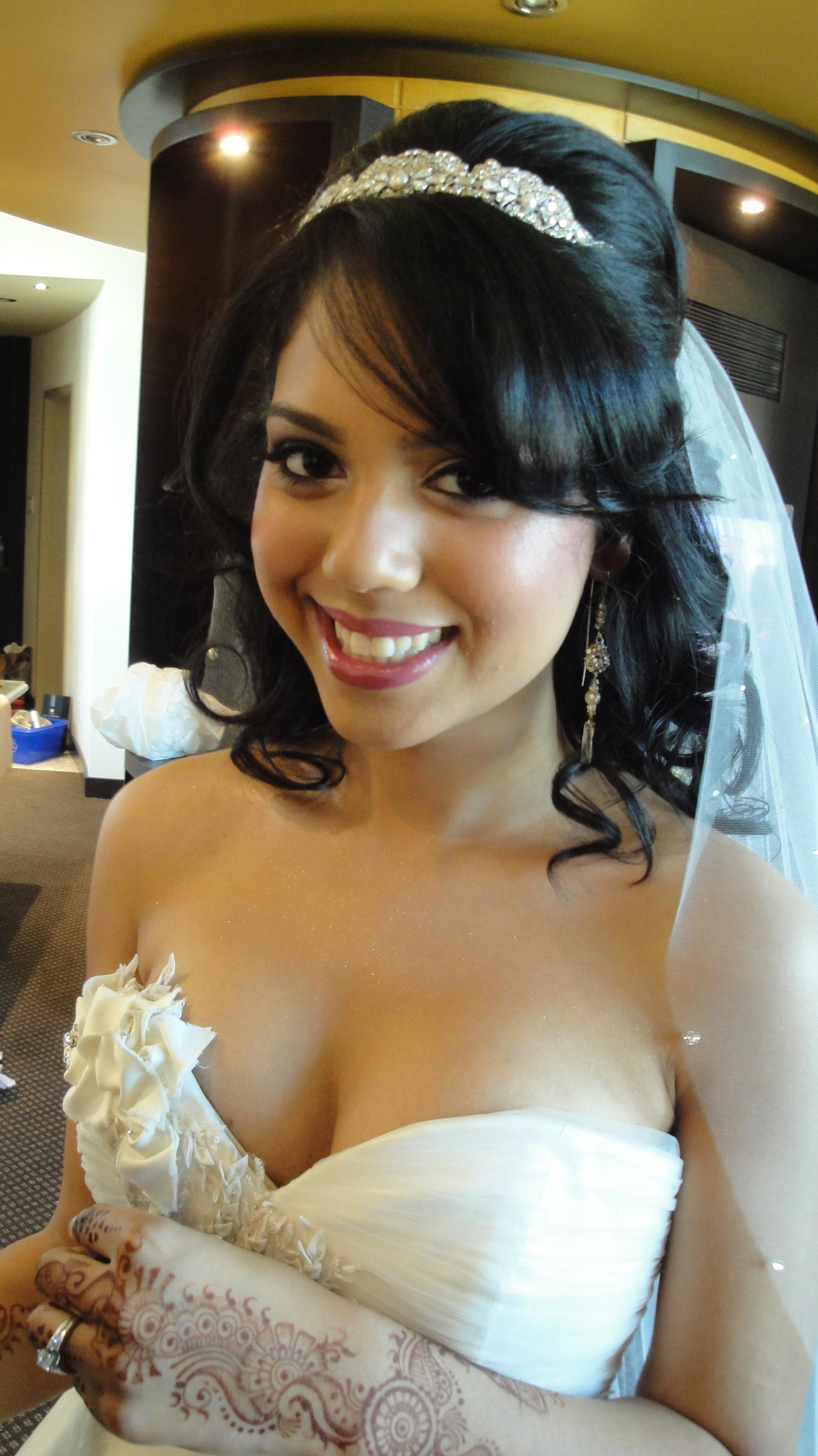Sexy asian bride