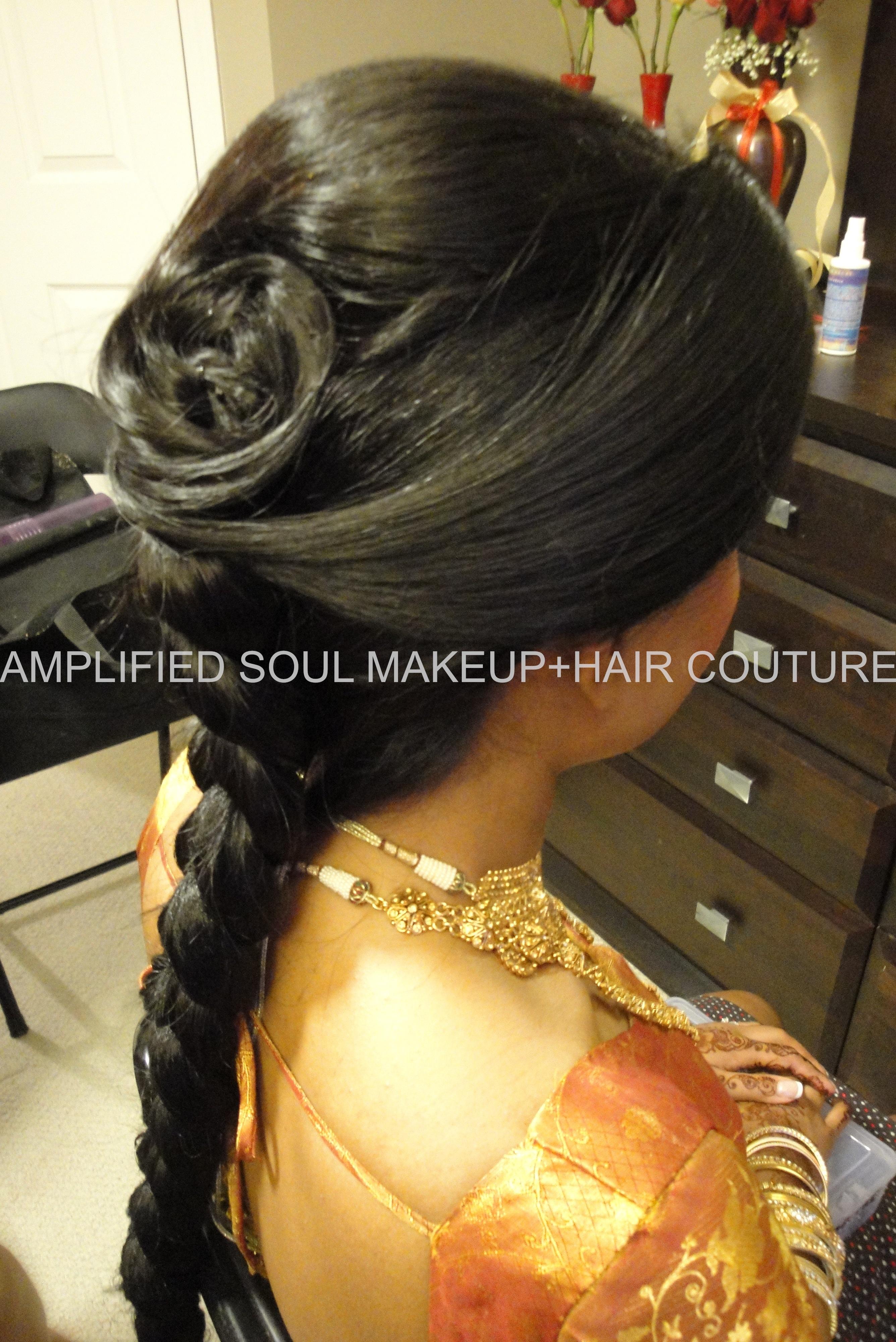 Sri Lankansouth Indian Bridal Hair Design