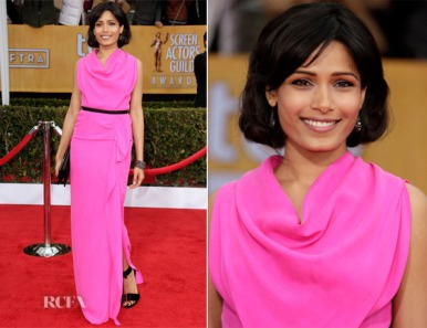 Freida-Pinto-In-Roland-Mouret-2013-SAG-Awards-1